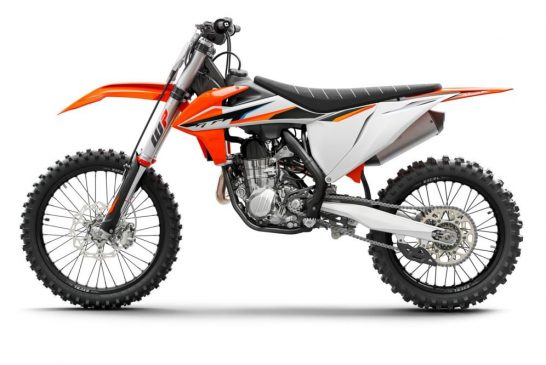 KTM 450 SX-F 2021 Studio