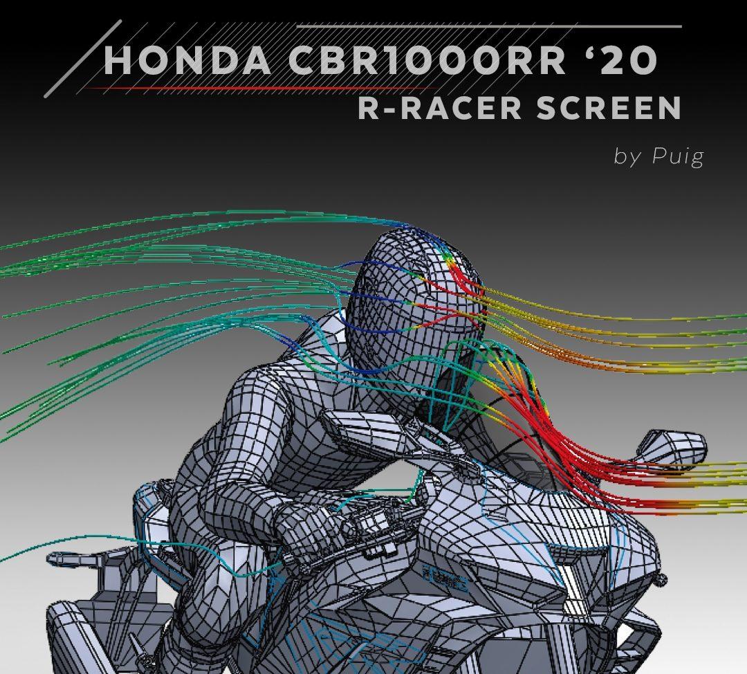 PUIG : Premiers tests aérodynamiques de la HONA CBR1000RR 2020