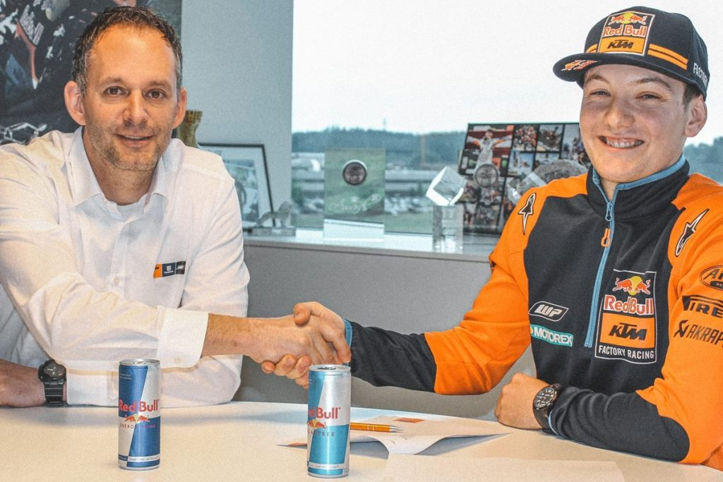 Rene Hofer Red Bull KTM 250 SX-F 2020