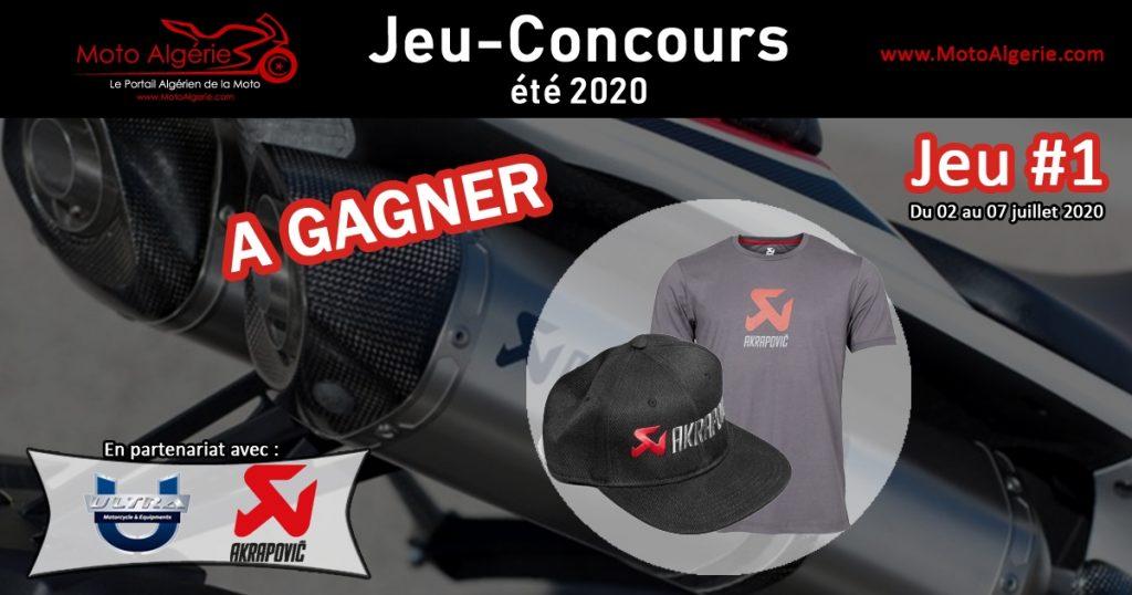 Jeu-Concours Moto Algérie été 2020 - JEU#1