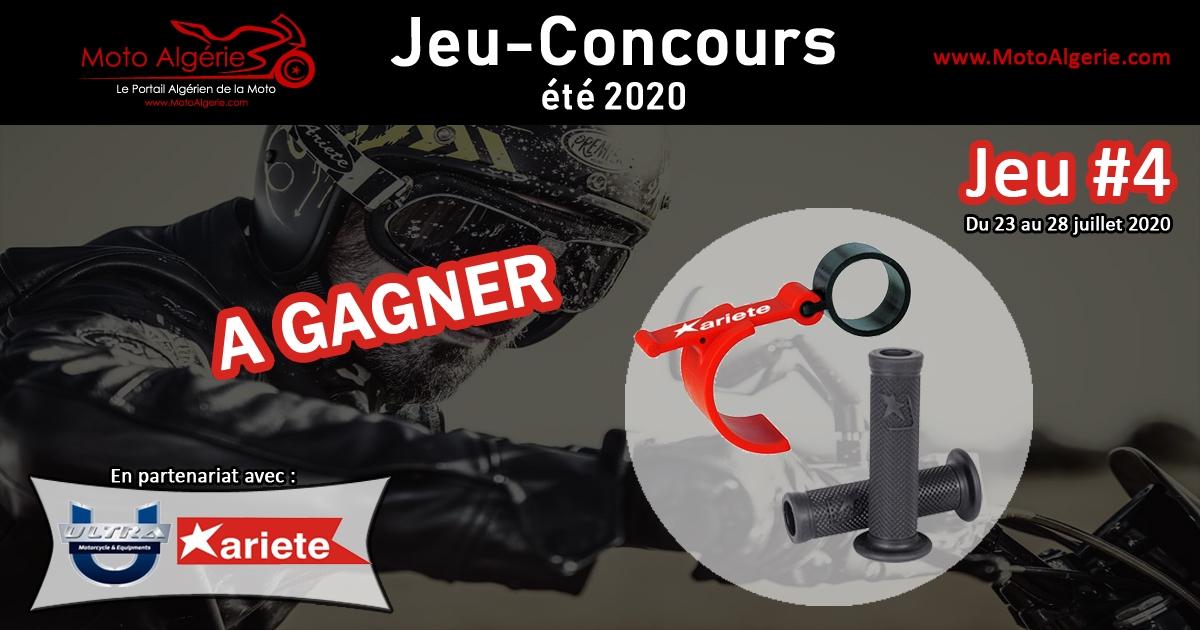 Jeu-Concours été 2020 – JEU#4 : Des poignets et un bloque frein à gagner, avec Ariete Algérie!