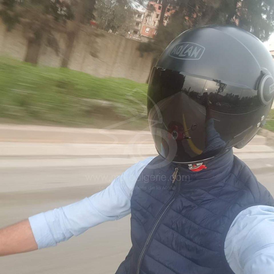 Gagnant JEU#2 - Rafick Mohamed Slimane - Moto Algérie