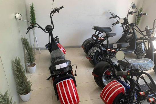 Velitcom Citycoco - scooter électirque 2020 - Showroom