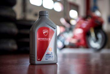 Shell et Ducati conforte leur partenariat technique et étendent la distribution de l'huile Shell chez Ducati en renouvelant le contrat de premier fournisseur d'huile moteur