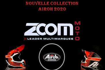 ZOOM Moto : Arrivage de la nouvelle collection de casques AIROH !