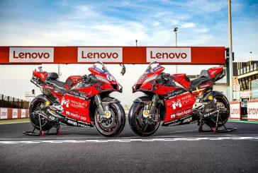 Ducati dévoile les carénages personnalisés avec le logo Motor Valley de la Desmosedici GP20 qui courra sur le circuit mondial de Misano