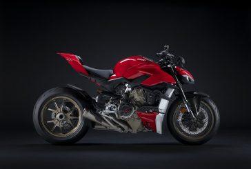 Le Streetfighter V4 devient encore plus sportif avec les accessoires Ducati Performance