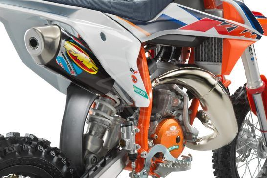 KTM 50 SX Factoy Edt 2021_detail exhaust