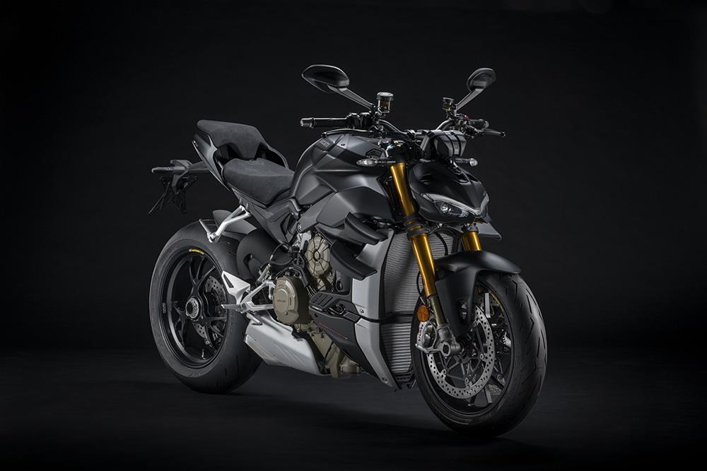 Nouvelle Ducati Streetfighter V4 2021 : EURO5 et nouveau coloris « Dark Stealth »