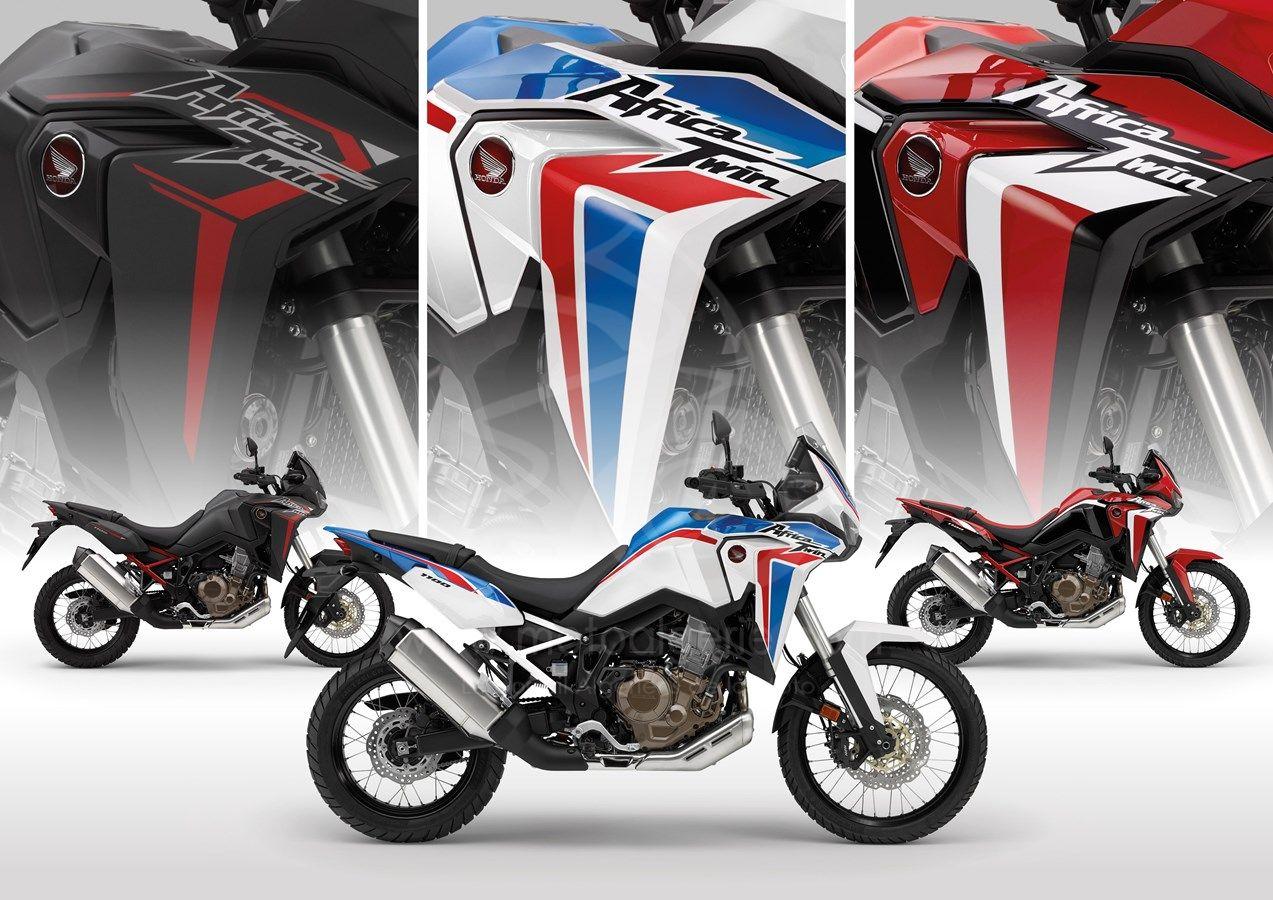 Détails de la nouvelle Honda CRF1100L Africa Twin 2021