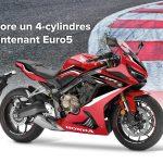 Honda dévoile la nouvelle CBR650R 2021