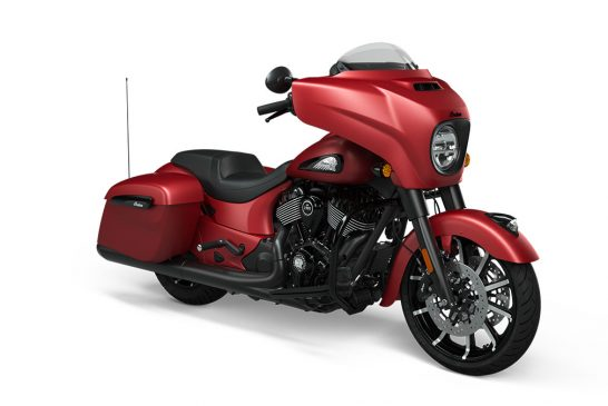 Indian Chieftain Dark Horse 2021 - Ruby_Smoke_Front_3Q