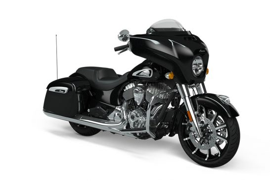 Indian Chieftain Limited 2021 - Thunder_Black_Pearl_Front_3Q
