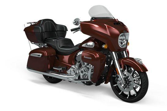 Indian Roadmaster Limited 2021 - Crimson_Metallic_Front_3Q