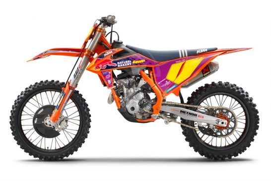KTM 250 SX-F TLD Studio left