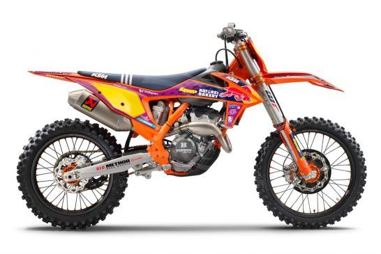 KTM 250 SX-F TLD Studio right