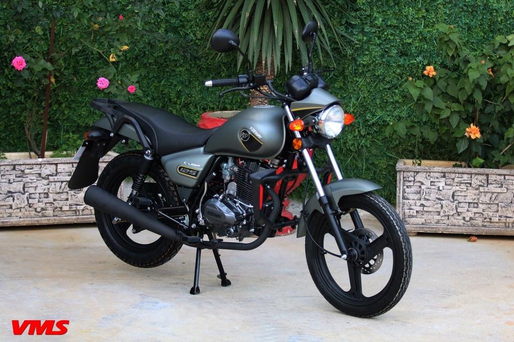 Keeway Algérie : La C-LIGHT 125cc de nouveau disponible avec un nouveau coloris !