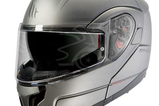 MT Helmets ATOM SV Solid MATT TITANIUM