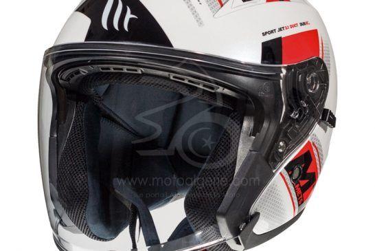 MT Helmets AVENUE SV Sideway C5 GLOSS PEARL RED