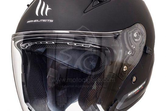MT Helmets AVENUE SV Solid A1 MATT BLACK