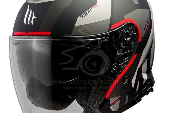 MT Helmets THUNDER 3 SV JET Bow A5 MATT RED
