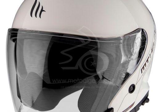 MT Helmets THUNDER 3 SV JET Solid A0 GLOSS PEARL WHITE