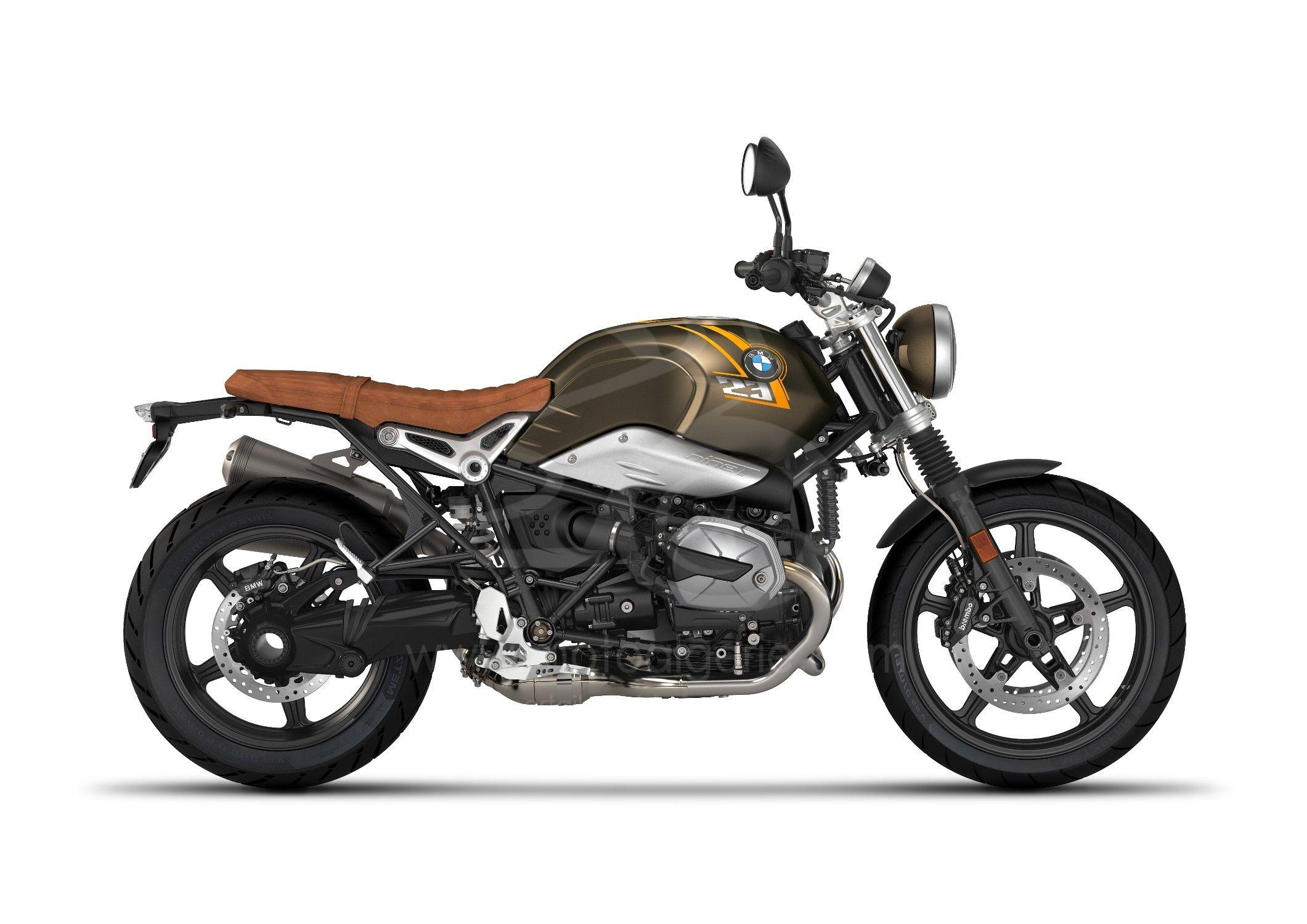 BMW R nineT Scrambler 2021