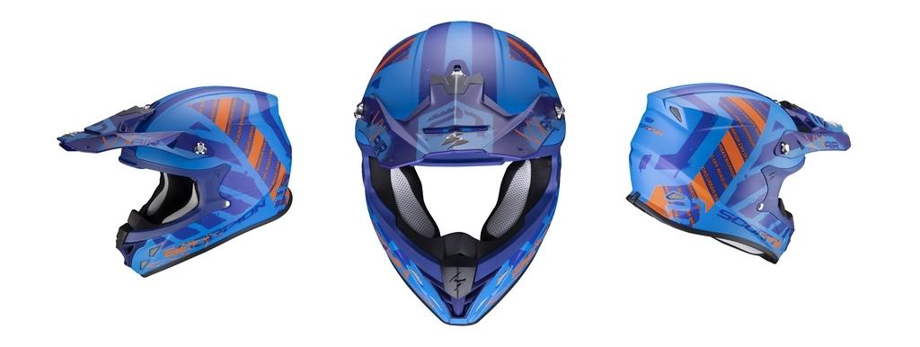 """Scorpion Helmets : Le casque off-road """"VX-21 Air URBA"""" dévoile un style Street Art ultra stylé pour 2021"""