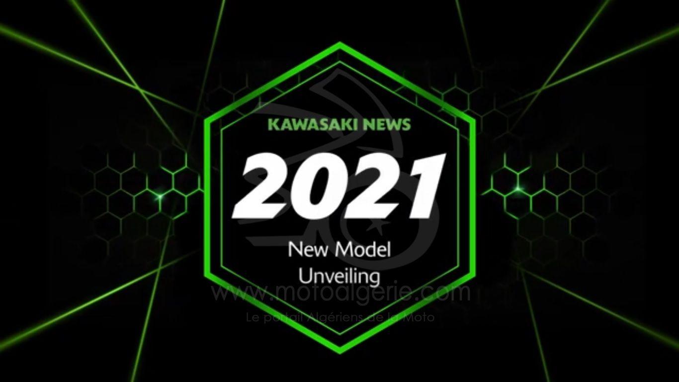 Les Nouveautés Kawasaki 2021 à partir de ce Lundi !