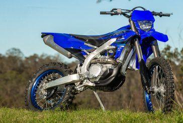 Yamaha annonce l'arrivée de la nouvelle enduro WR450F 2021
