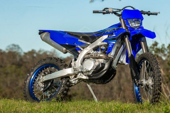 Yamaha WR450F 2021 3
