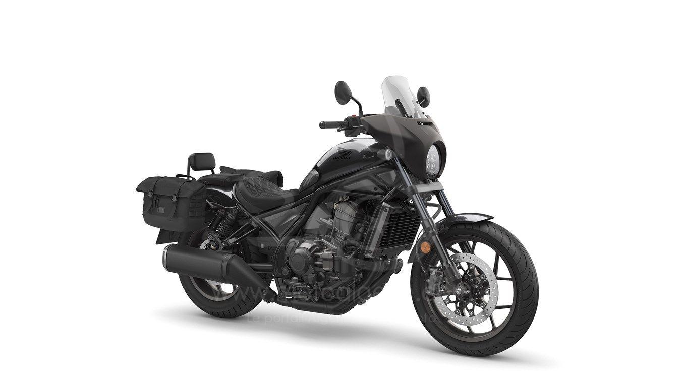 Nouvelle Honda Rebel 1100 (CMX1100) : Le clone XXL de la Rebel 500 !