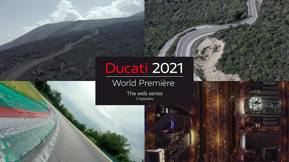 Ducati World Première 2021 : Les nouveautés 2021 à partir de ce soir !