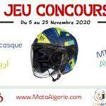 Jeu-Concours Moto Algérie - Novembre 2020 avec MT Helmets
