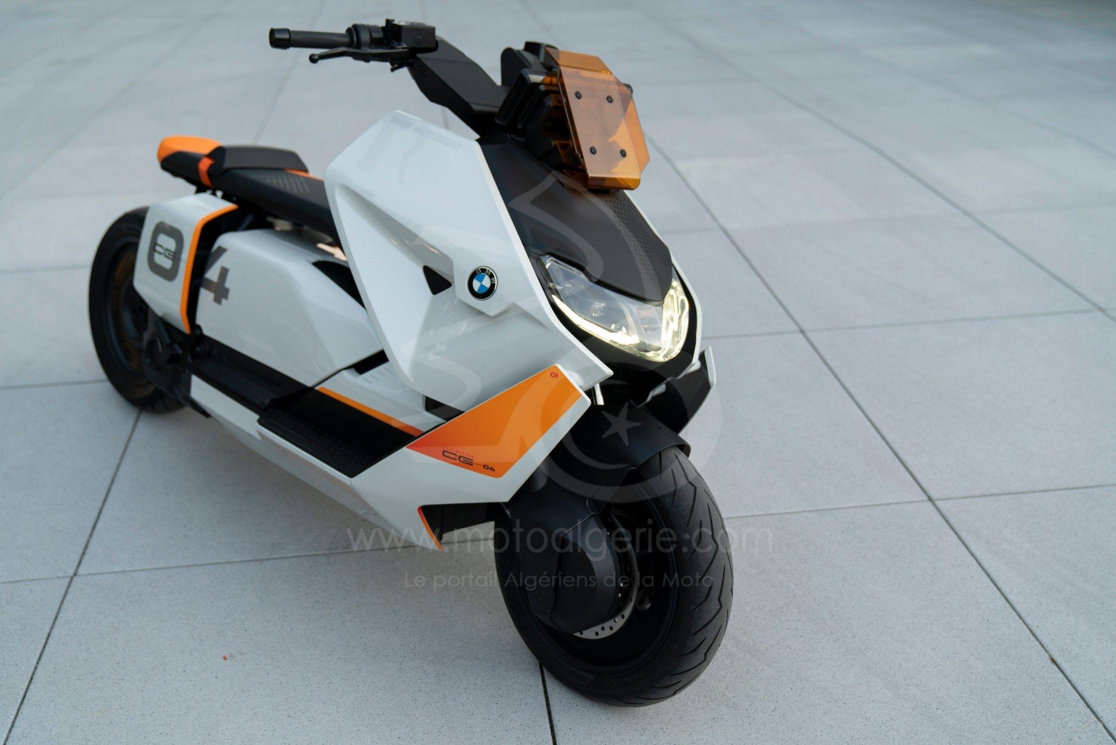 BMW Définition CE 04. Le nouveau style de la mobilité urbaine sur deux roues