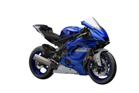 Yamaha R6 Race 2021 Blue