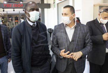 VMS Industrie reçoit l'ambassadeur de la Côte d'Ivoire en Algérie
