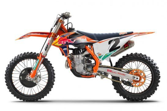 2021 KTM 450 SX-F FACTORY EDITION left