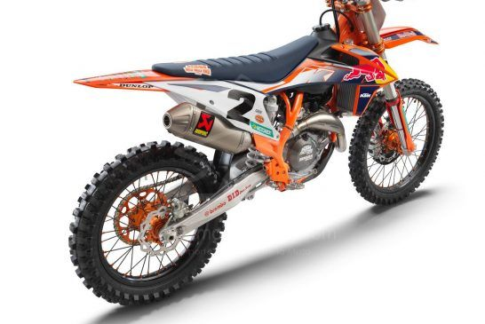 2021 KTM 450 SX-F FACTORY EDITION rear right
