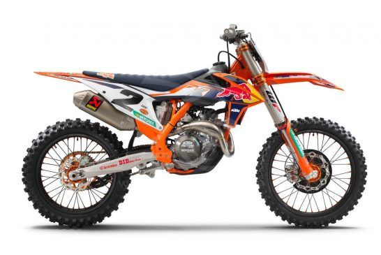 2021 KTM 450 SX-F FACTORY EDITION right