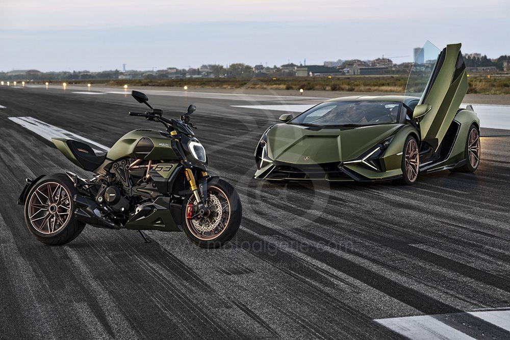 Ducati présente le Diavel 1260 Lamborghini : inspirée de la Lamborghini Siàn FKP 37