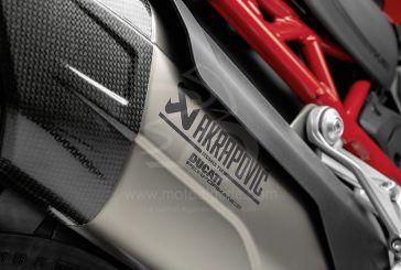 Ducati : La Multistrada V4 libère son caractère sportif avec les accessoires Akrapovič