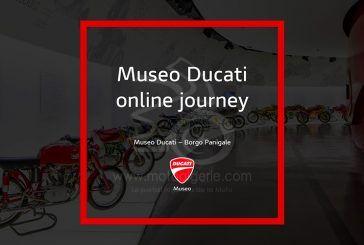 Online Journey : Le processus de digitalisation de Ducati se poursuit avec une visite virtuelle du musée Ducati