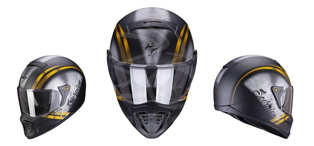 Nouveaux Scorpion EXO-HX1 OHNO : Un integral au look Streetfighter des années 70's
