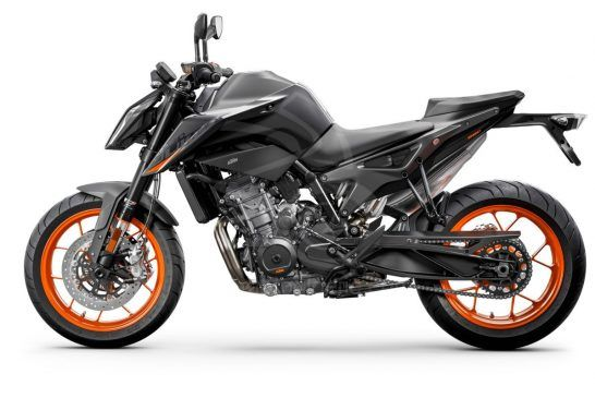 KTM 890 DUKE - Studio black left