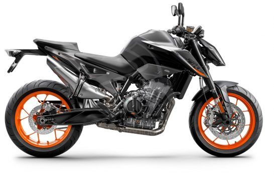 KTM 890 DUKE - Studio black right