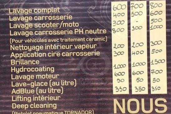 B52 Garage - Crédit Moto Algérie - Prix