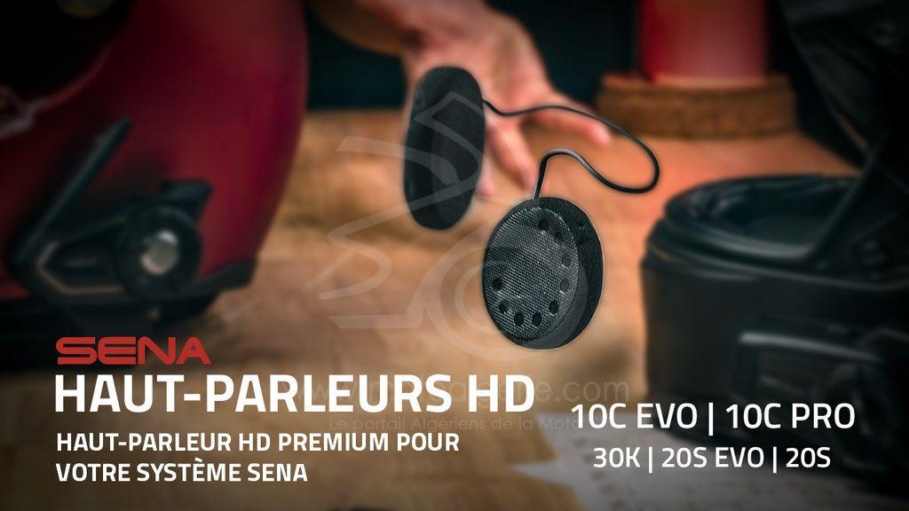 LES KITS DE HAUT-PARLEURS HD PREMIUM SENA SONT MAINTENANT DISPONIBLES POUR LES 10C EVO & 10C PRO