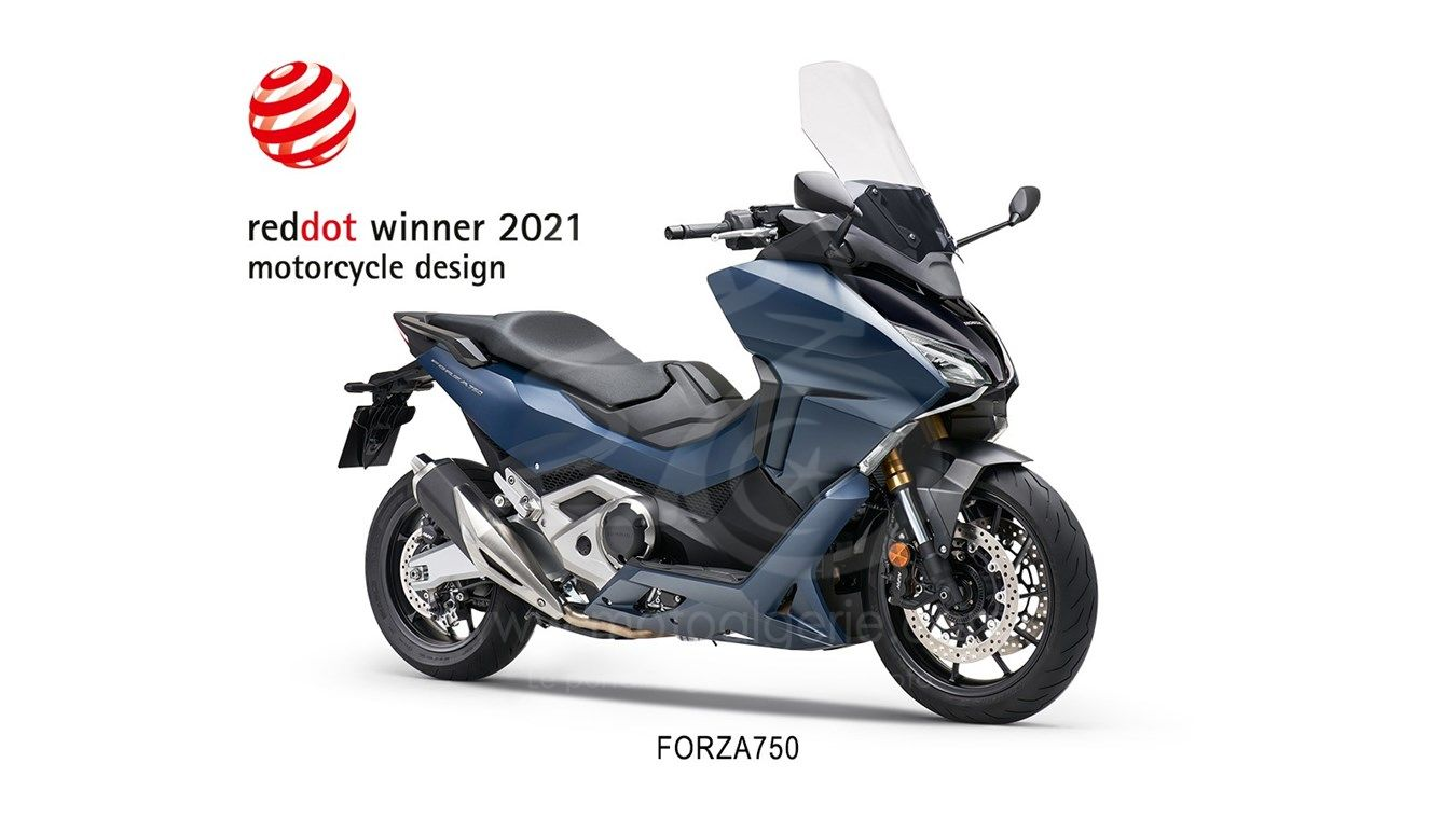 HONDA REMPORTE LE RED DOT AWARDS 2021 POUR LE FORZA 750