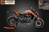 KTM LANCE LA KTM 890 DUKE BLACK 2021 TECH3 LIMITED EDITION